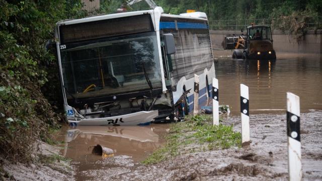 Allemagne - Intempéries - Inondations - Réchauffement climatique - Disparus - Victimes - Ouest de l Allemagne - Euskirchen