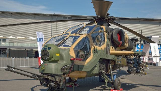 hélicoptères d'attaque T129 ATAK