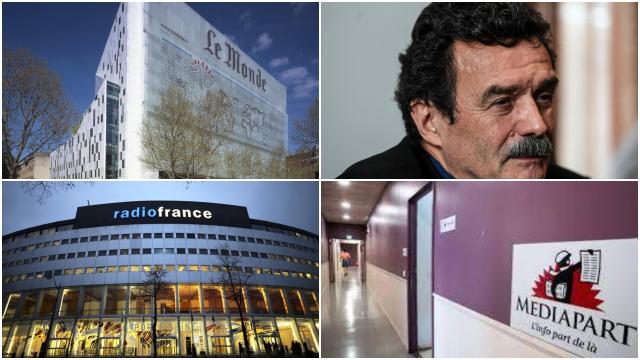 Pegasus - Diffamation -  Le Monde - Radio France - Mediapart - Edwy Plenel
