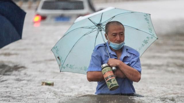 Chine - Intempéries - Inondations - Zhengzhou -