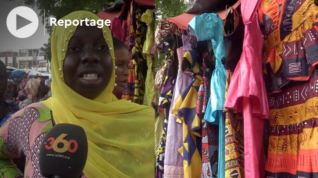 """Vidéo. Mali: ambiance au """"Rails-Da"""" à la veille de la tabaski"""
