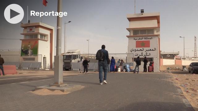 Cover : شاهد أجواء مرور المسافرين عبر معبر الكركرات قُبيْل عيد الأضحى