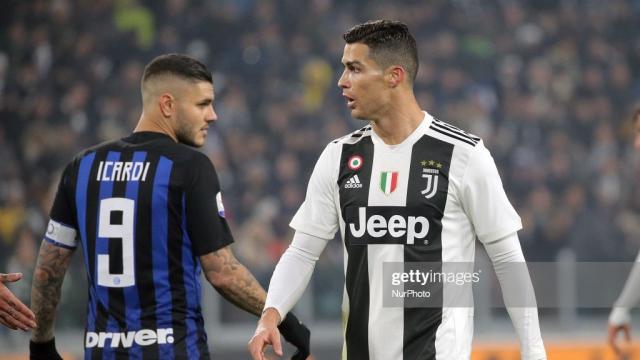 Icardi et Ronaldo