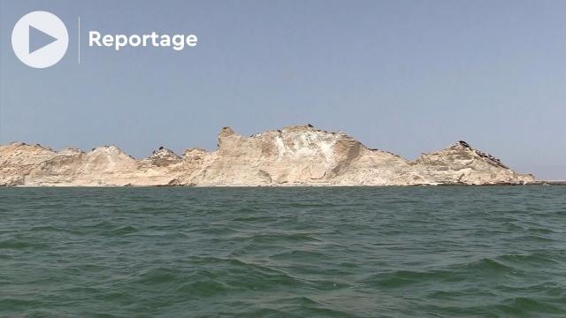 Dakhla - île du Dragon - île de Truk - Sahara Marocain
