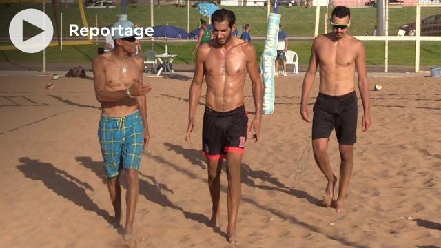 les Lions de l'Atlas de beach-volley