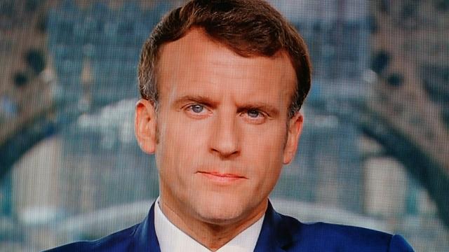 Macron - Président - France - Allocution télévisée 12 juillet 2021