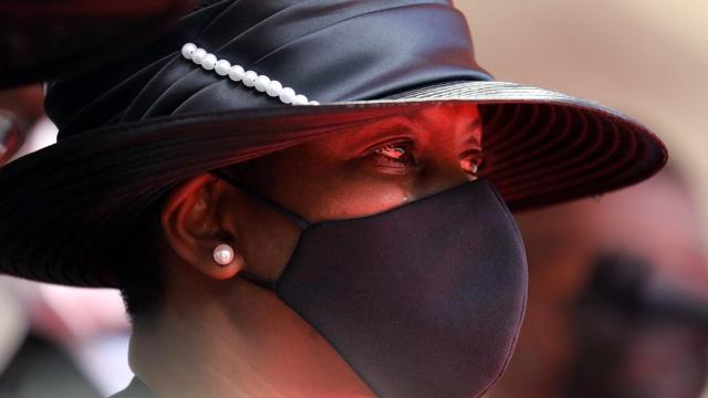Martine Moïse - Jovenel Moïse - Haïti - Président assassiné - Funérailles