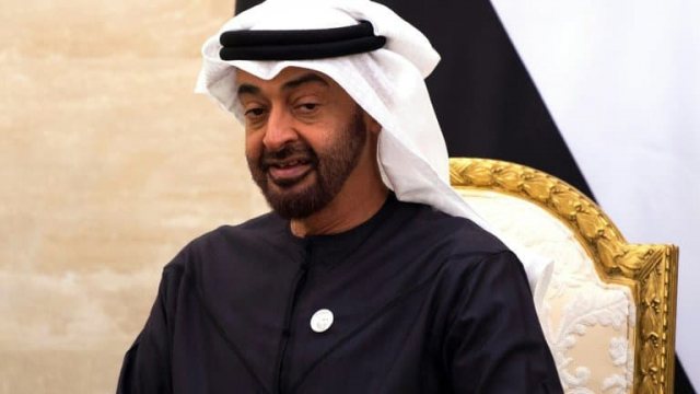 Mohammed ben Zayed Al-Nahyane, le prince d'Abou Dhabi.
