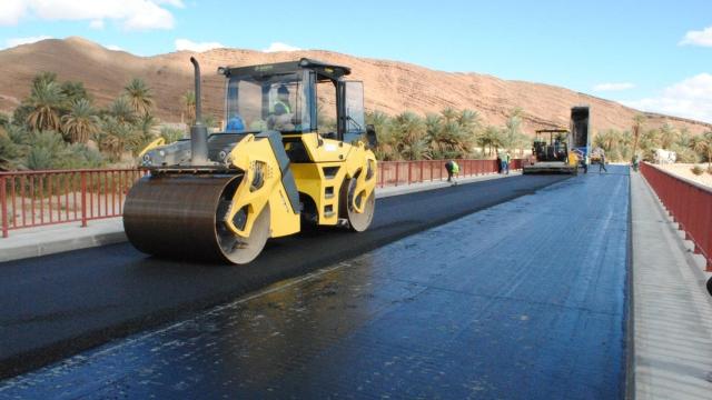 Travaux Route Maroc Infrastructure
