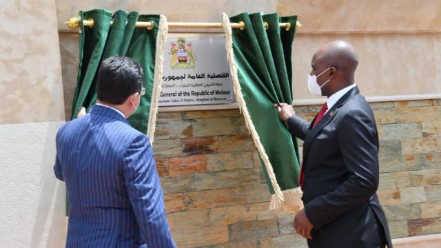 Diapo ouverture consulat ce Jeudi Malawi à Laâyoune