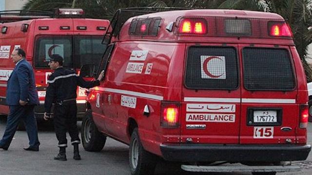 Ambulance - Protection Civile - Maroc - Urgences