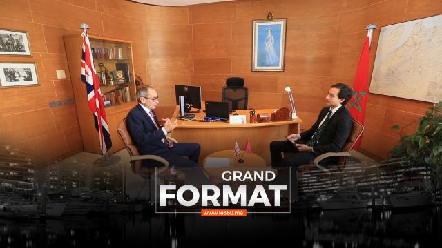 Cover_Vidéo: Grand Format- Brexit, commerce, Sahara… Simon Martin dit tout des relations Maroc-Royaume Uni