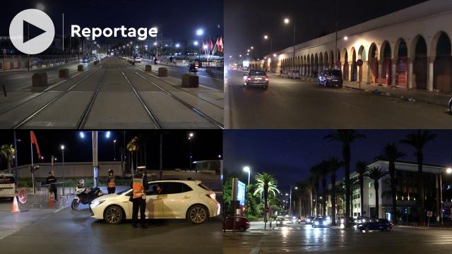Cover Covid 19: Voici à quoi ressemble Casablanca après 21h