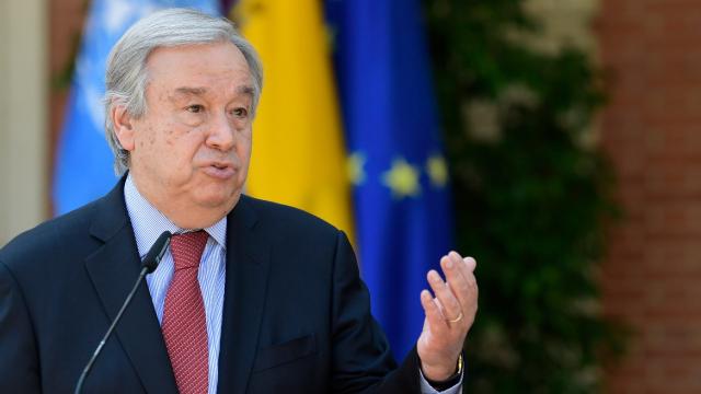 Antonio Guterres - Secrétaire général ONU