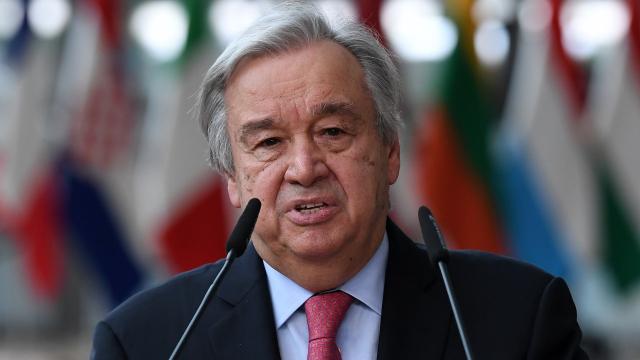 Antonio Guterres - United Nations - UN Secretary General