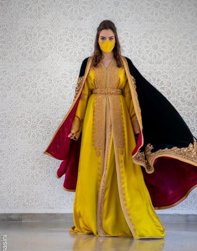 Caftan-Fatim Zahra Idrissi-Turquie