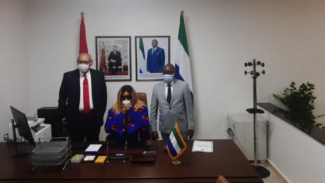 Inauguration du consulat général de la Sierra Leone à Dakhla