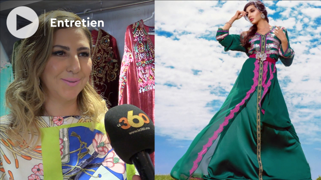 """cover: """"Samira Haddouchi"""" La haute couture marocaine est en stagnation"""""""