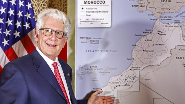 David T. Fischer - ex-ambassadeur américain  au Maroc