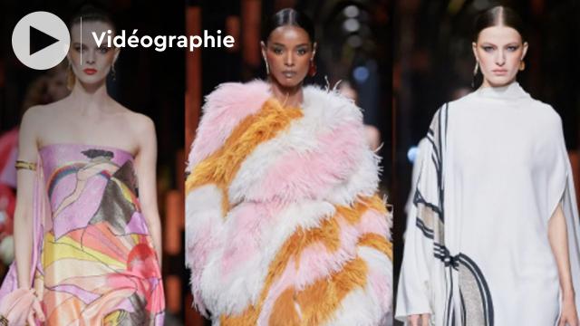 COVER VIDÉO Glamour et Disco au défilé printemps été 2022 de Fendi à Milan