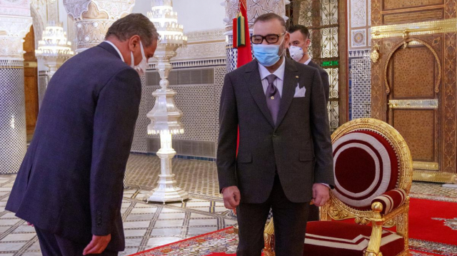 roi Mohammed VI - Aziz Akhannouch - nomination chef gouvernement