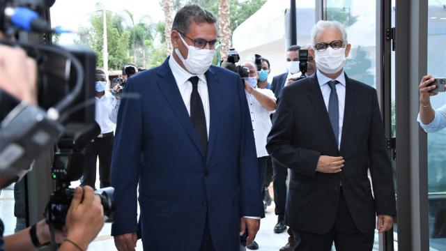 Aziz Akhannouch - Nizar Baraka - formation gouvernement - consultations