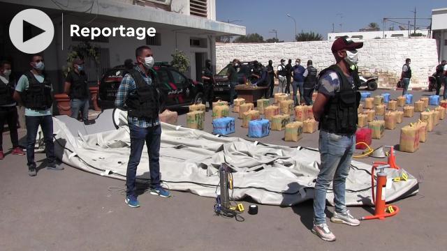 Coup de filet anti-drogue - Agadir - 2 tonnes de cannabis - Réseau de criminel - Trafic de drogue - Emigration illégale