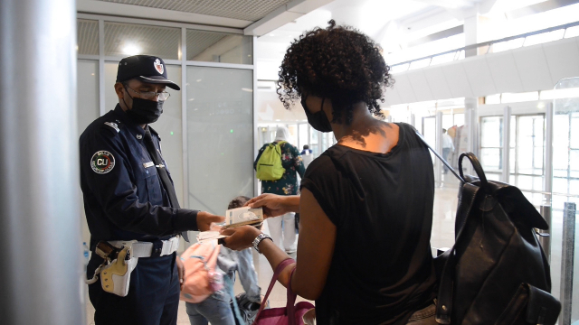 Test PCR - aéroport de Casablanca - pass vaccinal