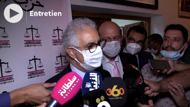 Cover - élections 2021 - Nizar Baraka - Istiqlal