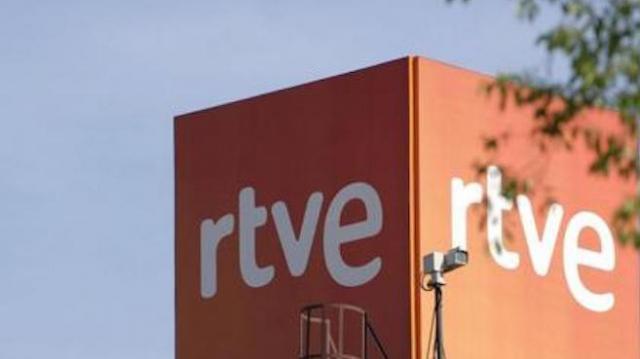 Le siège du pôle audiovisuel public espagnol (RTVE) à Madrid