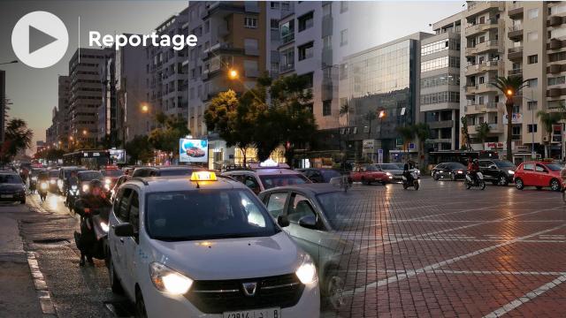 Cover Vidéo - Circulation à Casablanca - après un début de semaine chaotique, la situation s'améliore