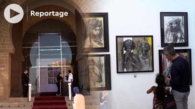 L art à travers trois générations - Exposition collective - Imane Feriani - Abdelhadi Benbella - Jean-Baptiste Valadié - Rabat - Oudayas