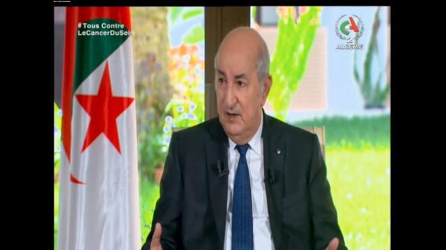 La folle interview de Tebboune - Télévision algérienne