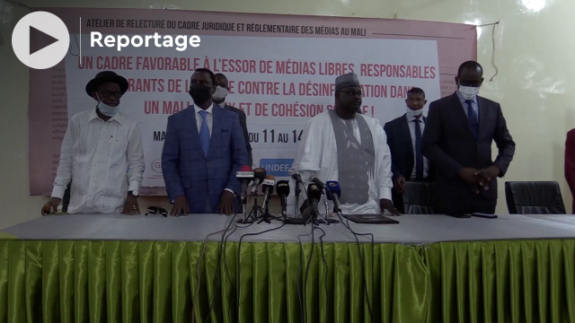 Vidéo. Mali: les textes régissant la presse et les médias sont devenus obsolètes