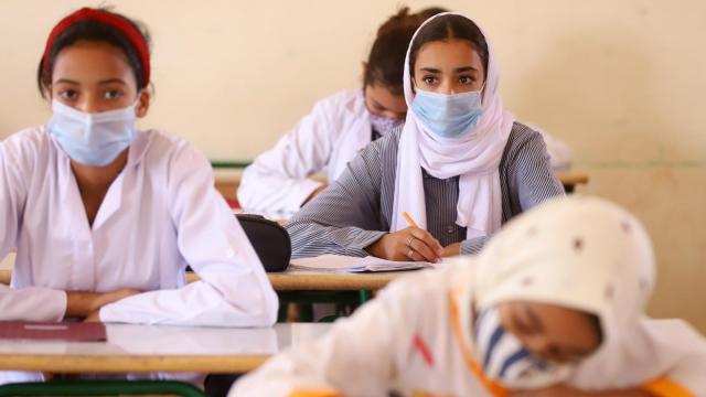 Rentrée scolaire - vaccination - 12-17 ans - adolescents - Marrakech