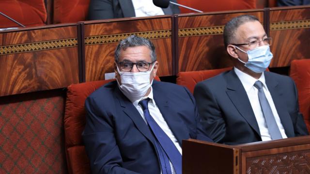Aziz Akhannouch - Faouzi Lakjaa - Parlement - Gouvernement - Vote de confiance
