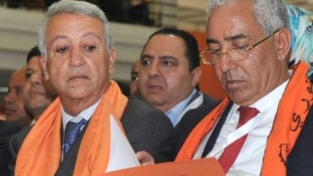 De g à d: Mohamed Sajid et Driss Radi