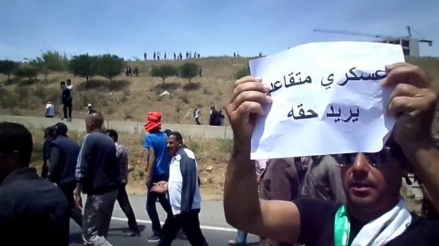 militaires algériens à la retraite - ANP - Armée nationale populaire - Algérie