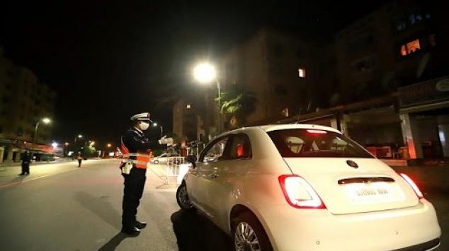 Couvre-feu à Marrakech