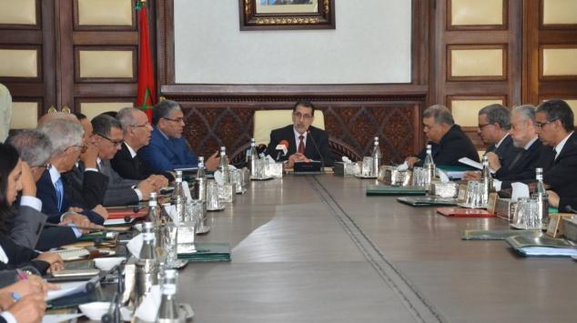 Conseil de gouvernement Othmani