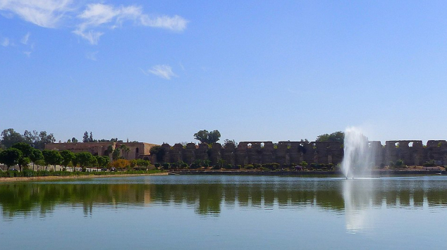 Bassin de l'Agdal - Meknès - Météo