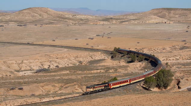 Train ONCF vers Oujda - Météo
