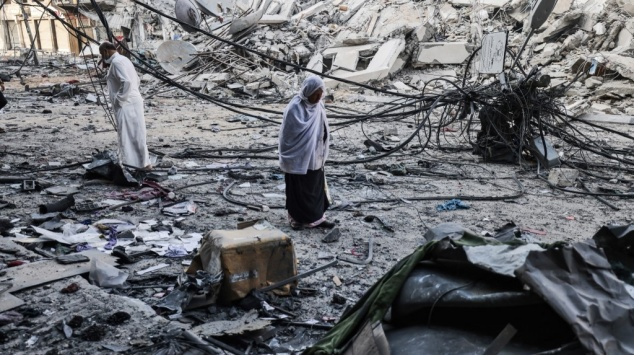 Gaza - Bombardements - Frappes israéliennes