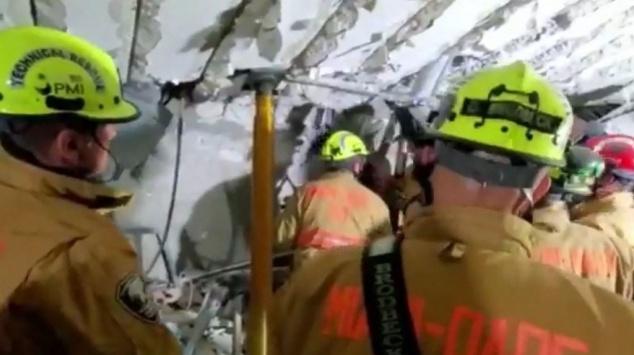 Miami - Floride - Effondrement immeuble - Etats-Unis