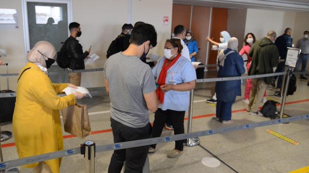 Voyageurs - Aéroport Mohammed V