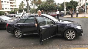 Abdelilah Benkirane  1ER Ministre   EN VOITURE