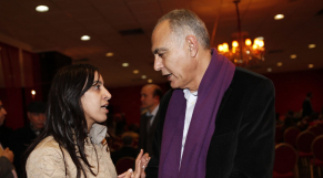 Salaheddine Mezouar  SG  RNI et M'barka Bouaida RNI