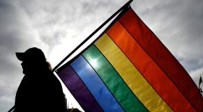 Gay homosexuels drapeau