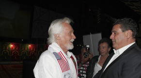 Festival Timitar 2013 - Kenny Rogers Aziz Akhannouch people couv