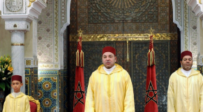 Discours roi Mohammed VI - fête du trône - 30 juillet 2013 - photo officielle